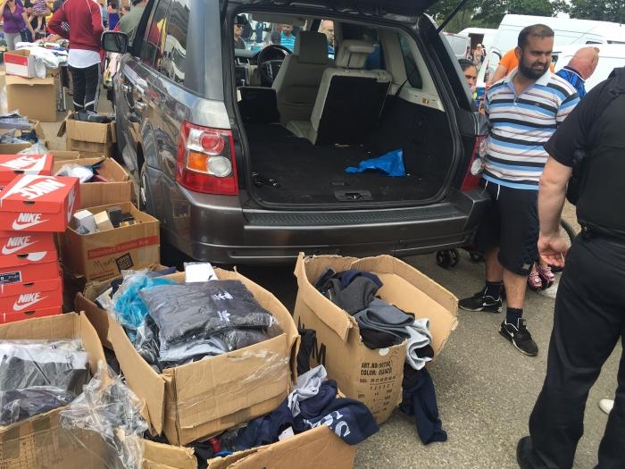 Sentencing for fake goods car boot trader